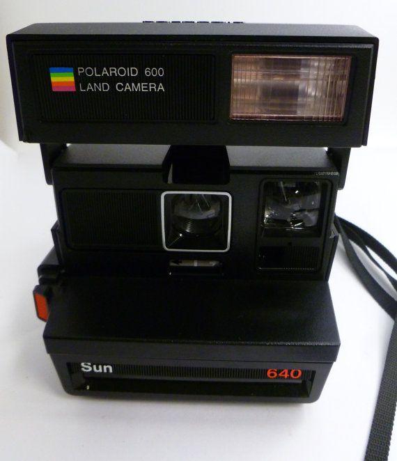 Polaroid 600 Land Camera Sun 640