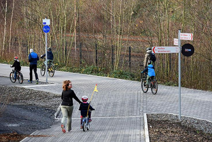 Germany's New Bike Autobahn http://www.bicycling.com/news/advocacy/the-worlds-coolest-bike-infrastructure/germanys-new-bike-autobahn