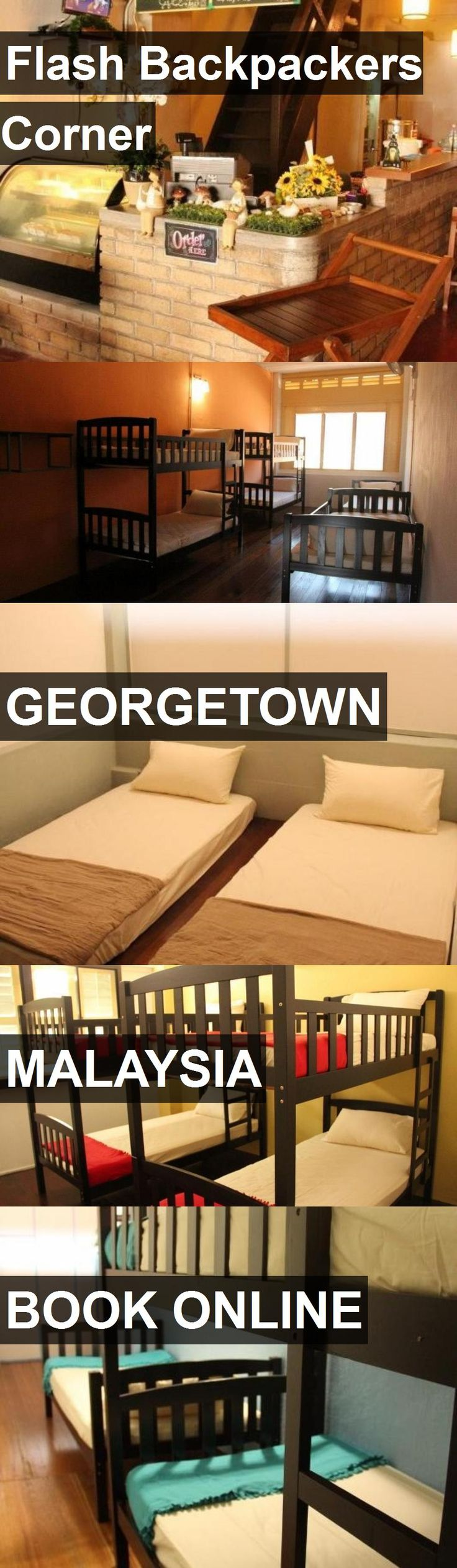 Hotel Flash Backpackers Corner in Georgetown, Malaysia. For more information, photos, reviews and best prices please follow the link. #Malaysia #Georgetown #travel #vacation #hotel