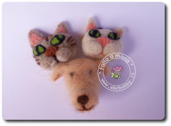 Cuccioli di feltro - Needle felt pets