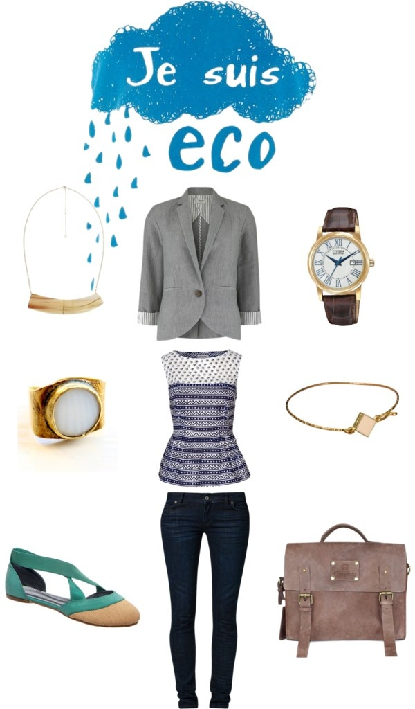 """Eco friendly outfit"" by winksman on Polyvore"