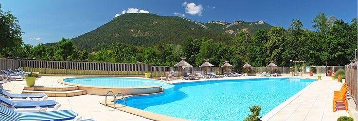 piscine camping drome