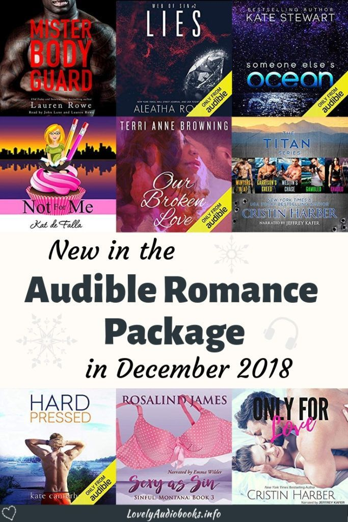 New free Romance Audiobooks in December 2018 | Book Blog Inspiration
