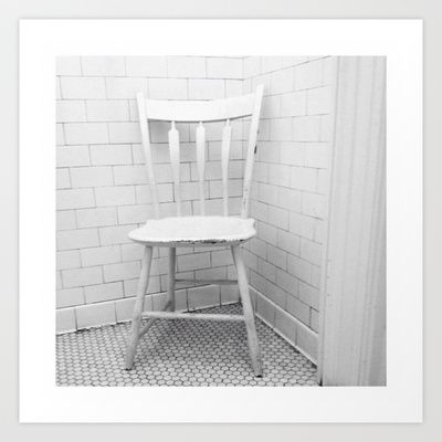 """White Chair, White Room"" by Shy Photog - $19.00"