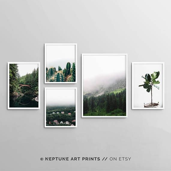 Printable art is an easy and affordable way to personalize your home or office. You can print from home, your local print shop, or upload the files to an online printing service and have your prints delivered to your door! **THIS PURCHASE INCLUDES ALL FIVE PRINTS** -- I N C L U D E
