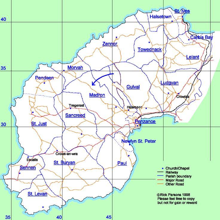 TREMBATH | Cornwall: Origins in West Penwith     ✫ღ⊰n