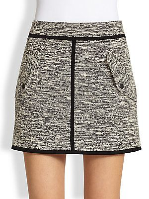 Rag & Bone Bomber Skirt