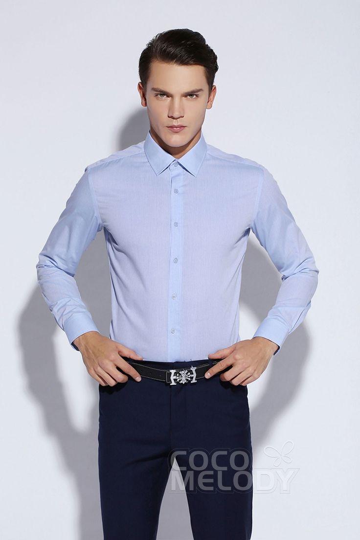 New Design Dress Shirts Mens Formalwear Spread Collar LT0015006  #men'swear #men'sfashion #hisfashion #shirts #cocomelody