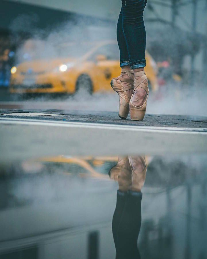 Best Street Dance Images On Pinterest Street Dance Dancing - Photographer captures the amazing reflections of puddles in new yorks streets