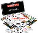 In Monopoly: Sephora Edition, the ultimate beauty board game, players go to jail for bad hair days, advance to go for getting a manicure, pay fines for streaky self tanner application, and purchase products with beauty bucks. Players vie to run the most successful Sephora store by filling it with the most beauty products, along with cast members, and essentials such as water and electricity. When players land on cosmetic properties owned by their opponents, rent must be paid.