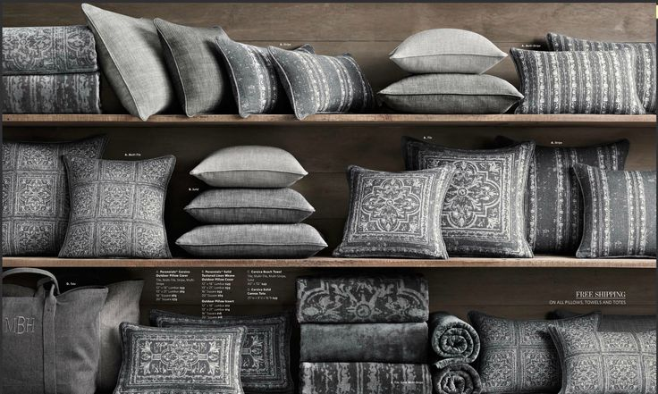Floor Pillows Restoration Hardware : 1000+ images about decor on Pinterest Wall beds, Restoration hardware and Outdoor pillow