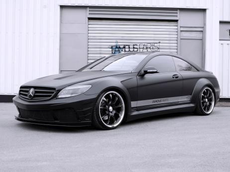 Mercedes-Benz CL 500 Black Matte Edition by Famous Parts #mbhess #mbcars #mbtuning #FamousParts