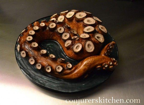 kraken rum and honey cake by conjuror's kitchen