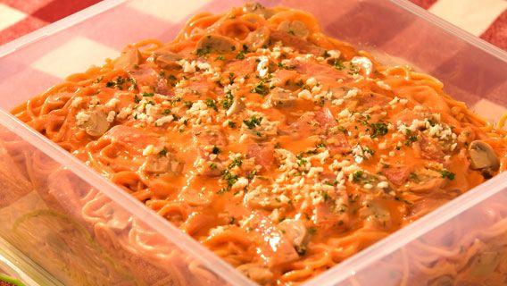 Country Ham and Mushroom Spaghetti | Del Monte Philippines http://www.delmonte.ph/kitchenomics/recipe/country-ham-and-mushroom-spaghetti
