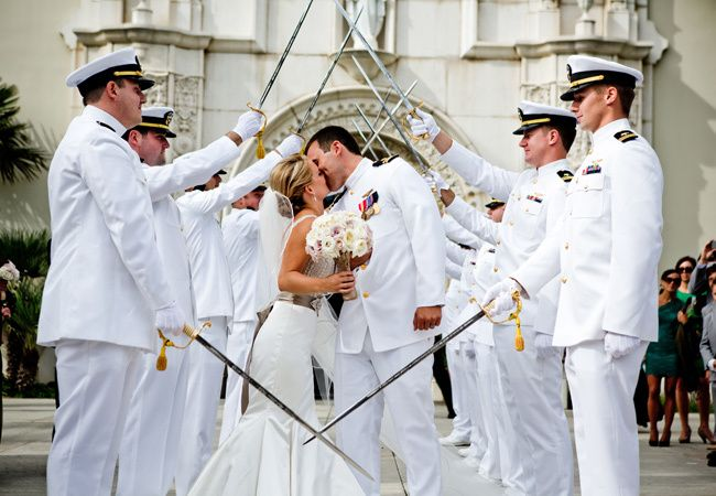 Military Wedding Ideas // True Photography
