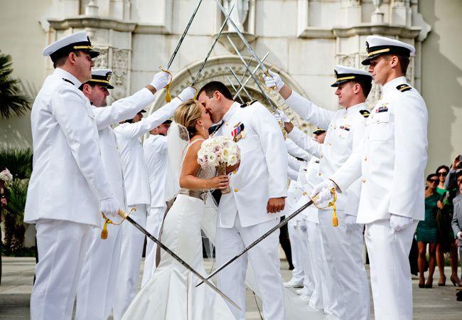 Military Wedding Ideas // True Photography
