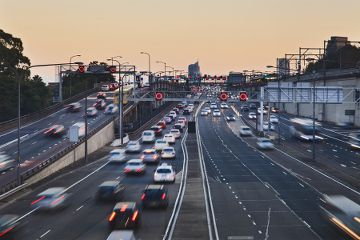 Lots of traffic that could lead to a road traffic accident. Check out more at http://www.personalinjurysolicitorsmanchester.net/road-traffic-accidents/