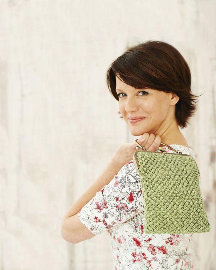Knitting pattern vintage handbag