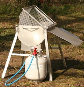 Crawfish boiler - Perhaps a built in one?