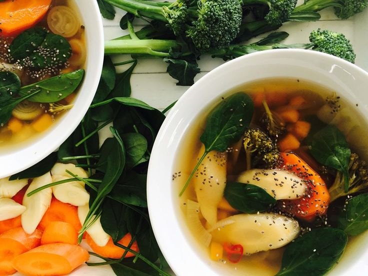 Winter Vegetable Soup with Carrots & Parsnips
