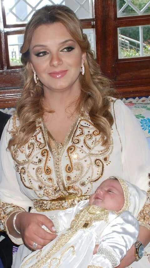 Moroccan caftan new born baby