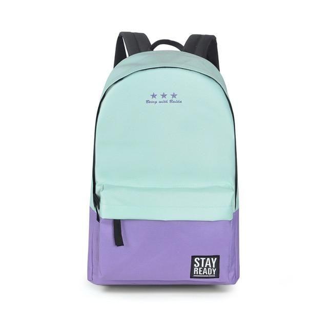 dd724a51aaa2 Fashion Backpack Women Leisure Back Pack Korean Ladies Knapsack ...