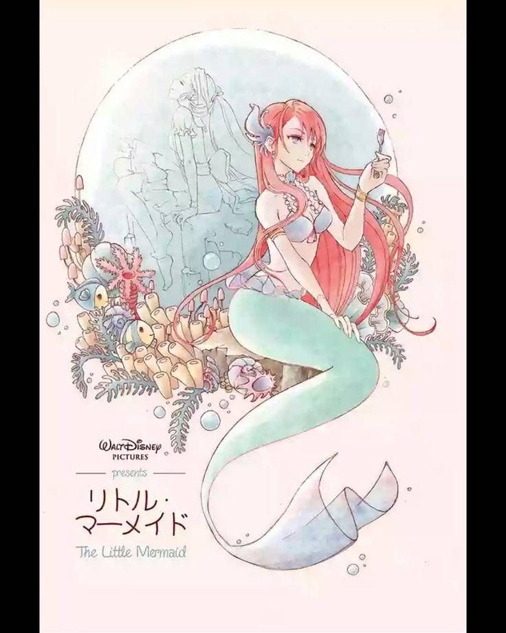 Mermaid Ariel Dinglehopper