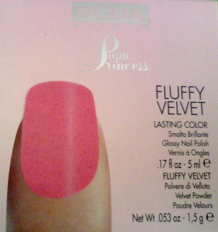 Pupa Princess Fluffy Velvet - Nail Art Kit