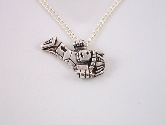 Firefly Serenity Silver Necklace