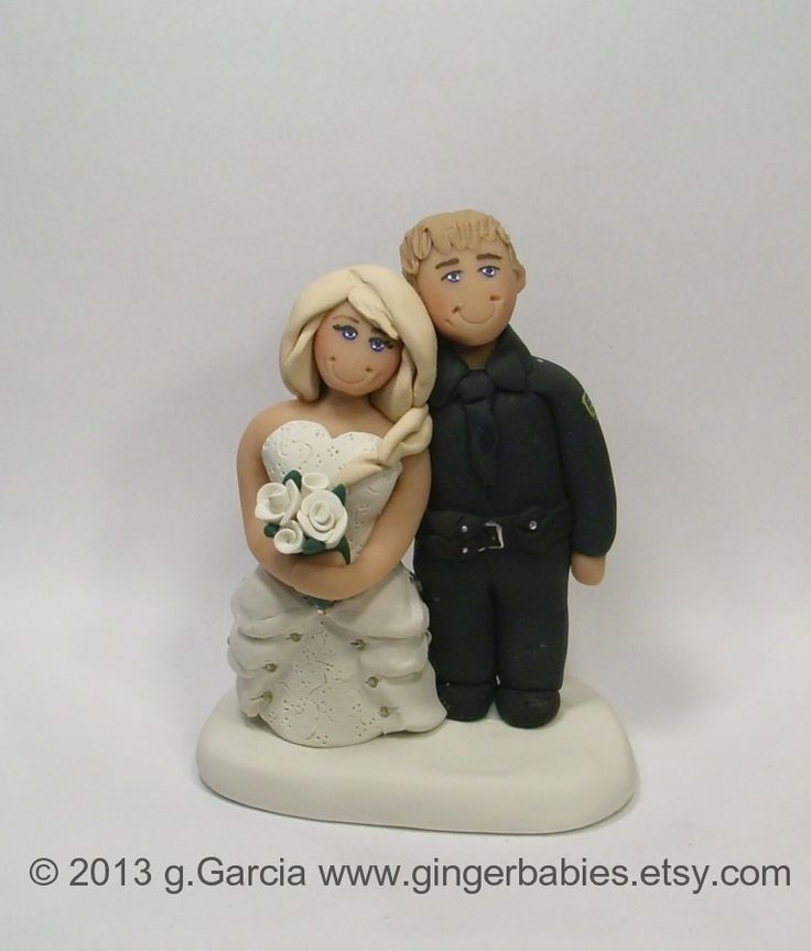 15 Best Images About Police Wedding Cake Toppers And Weddings On Pinterest