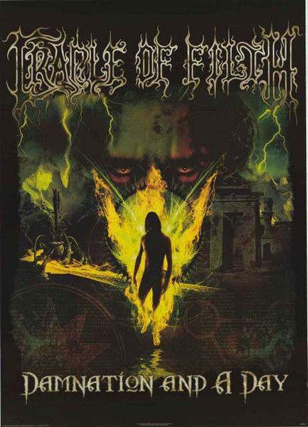 Cradle of Filth Damnation 2003 Poster 24x34 – BananaRoad