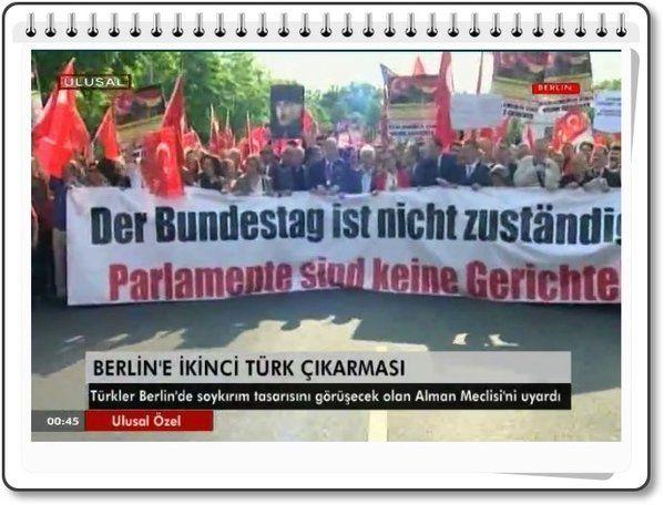 Binlerce #Türk Berlin'de soykırım tasarısını görüşecek olan Alman Meclisi'ni uyardı #Almanya #Türkiye #Bundestag