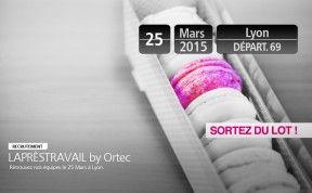 Le 25 mars 2015, retrouvez les équipes Recrutement Ortec pour un afterwork inédit à bord de l'Only Bus à Lyon, LAPRÈSTRAVAIL by Ortec.