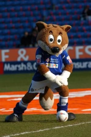 Filbert Fox - Leicester City F.C.'s mascot