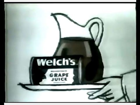 "Welch's Grape Juice Animated Commercial (1974) ""Wholesome, vitamin-enriched."" Welch's Frozen Grape Juice Concentrate commercial featuring an animated refrigerator-child. Spot aired in February 1974. *Visit BionicDisco.com for 1970s pop culture fun.* Fair Use. No copyright infringement is intended. Posted for museum purposes only."