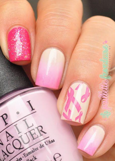 #nailstorming #nail #nails #nailart #lapaillettefrondeuse #pink #opi #pinkoctober #octobrerose