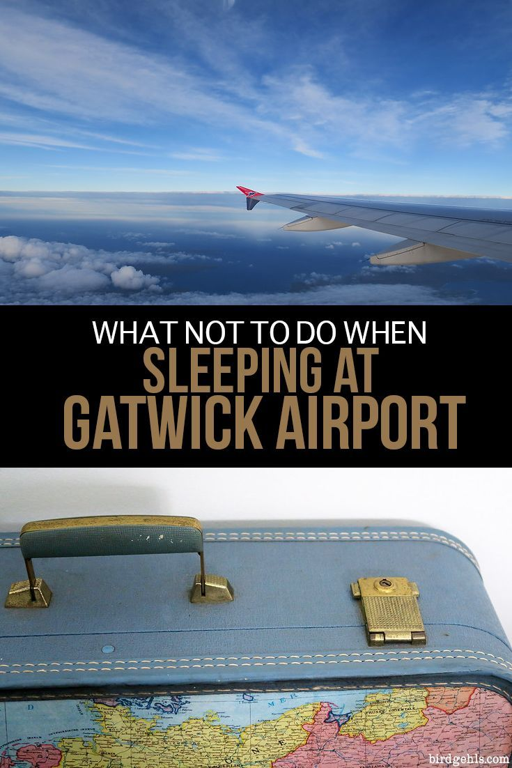 There are a few things you should avoid doing if you're planning on spending the night at Gatwick Airport in #London. Don't assume that sleep will come naturally, don't place any faith in fellow man to allow this to happen, don't settle down in the first place you find and don't forget a pair of solid earplugs! #TravelTips #FlightTips  via @birdgehls