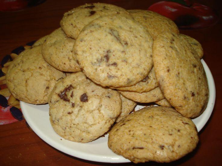 chocolate chip cookies senza burro #chocolatechip #cookies #gialloblogs #foodporn