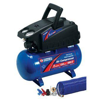 $129 2-Gallon Air Compressor