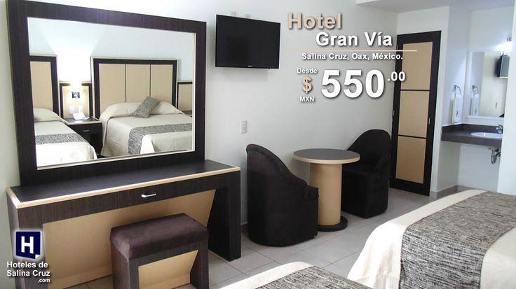 HOTEL GRAN VÍA Salina Cruz, Oaxaca, México.  #hotelgranvia #salinacruz #oaxaca #hoteles #viajes #mexico #viveoaxaca #vivemexico #oaxacaturismocd #capturaoaxaca #turismo #travel #ViajemosTodosPorMéxico #Oaxtravel