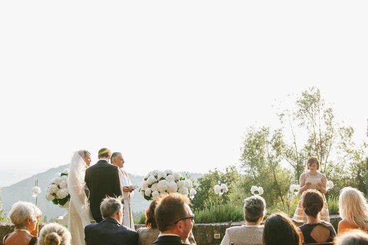 Florence, Italy Wedding at Villa Montefiano Balcony  Read more - http://www.stylemepretty.com/destination-weddings/2014/01/17/florence-italy-wedding-at-villa-montefiano-balcony/