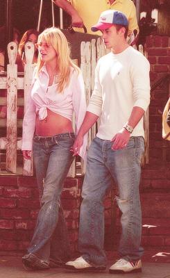 Britney & Justin Timberlake [Candids]