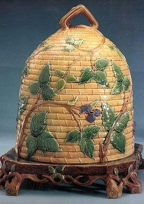 Antique Bee Skep Honey Safe