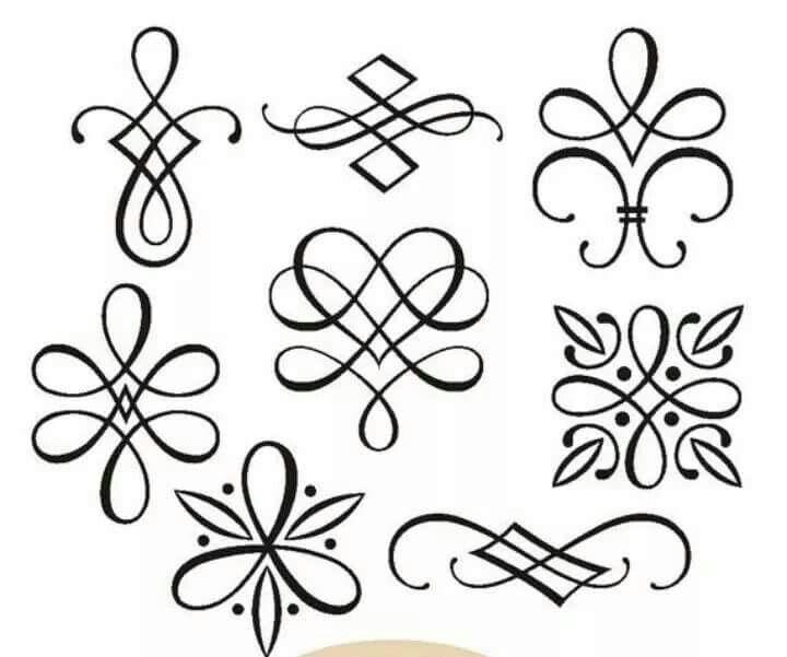 Relativ einfache Ornamente