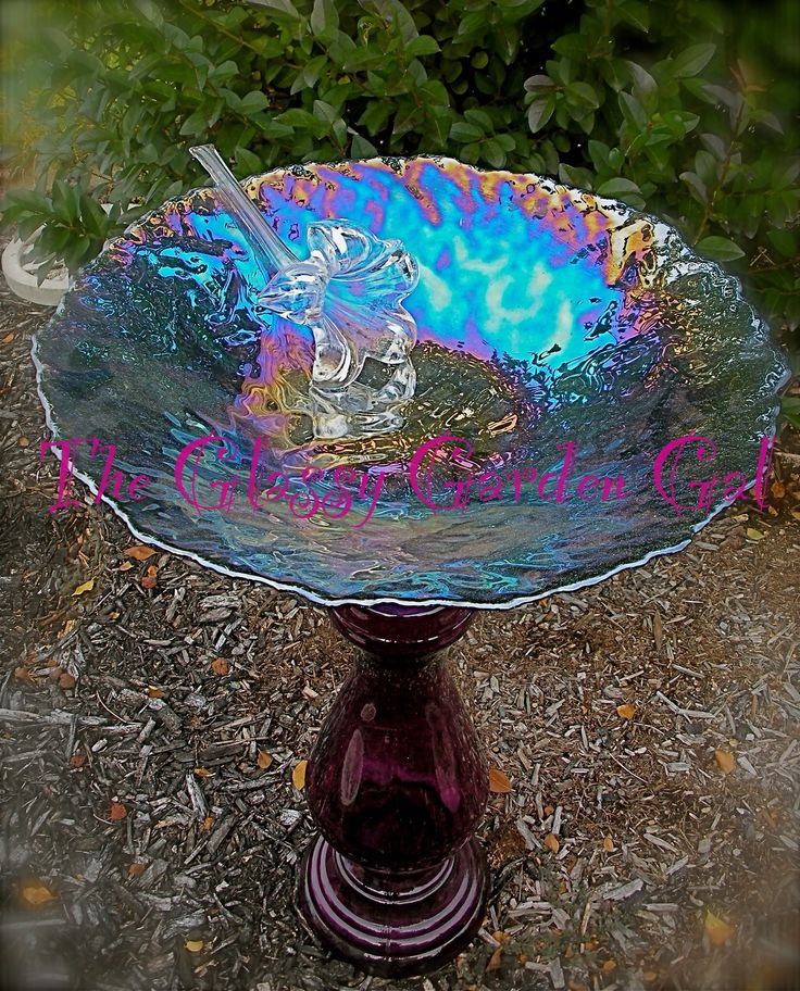 Unique Garden Art: Pin By The Glassy Garden Gal On Glass Garden Art