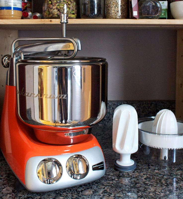 The Kitchn Reviews the Ankarsrum Original Kitchen Machine: Part I - The Mixer, the Citrus Juicer, and the Blender — Product Review