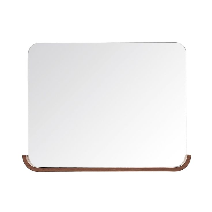 Shop Avanity  SIENA-MB35-CH Siena 35-in Bathroom Mirror with Shelf at ATG Stores. Browse our bathroom mirrors, all with free shipping and best price guaranteed.