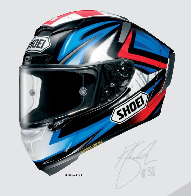 Brand new photo of the upcoming Shoei X-14 helmet. This on is the Bradley Smith version.