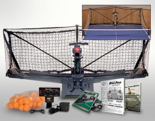 The Robo-Pong 2040 Ping Pong Robot!