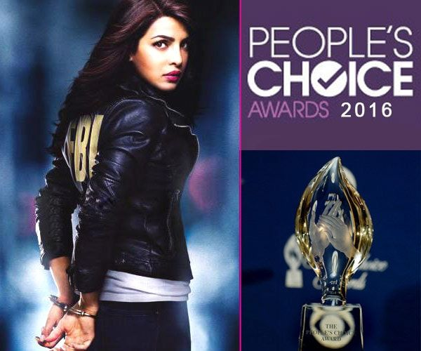 Priyanka Chopra People's Choice Award 2016